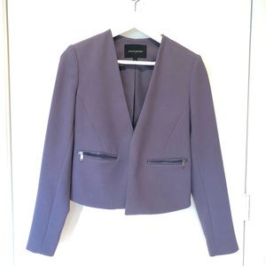 Purple/gray blazer
